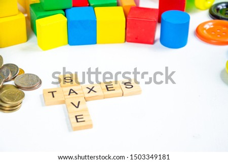 save and taxes keyword on the floor.  #1503349181