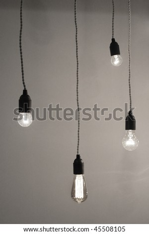 Save Electricity concept.