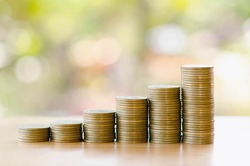 save money with stack money coin for growing graph your business