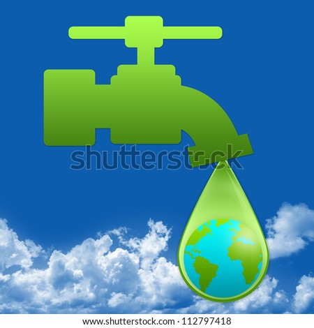 Save Water Save Earth Images Save Water Concept Present by