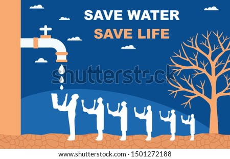 SAVE WATER SAVE LIFE SAVE EARTH #1501272188