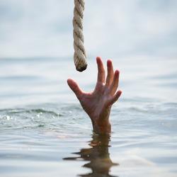 saving a drowning man