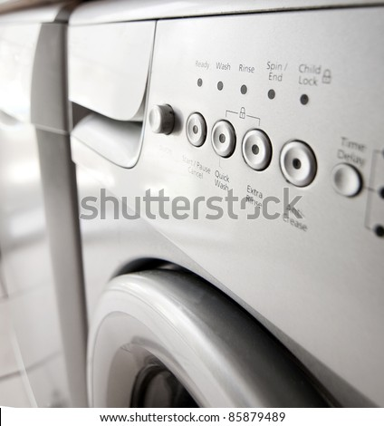 Saving energy with a quick wash
