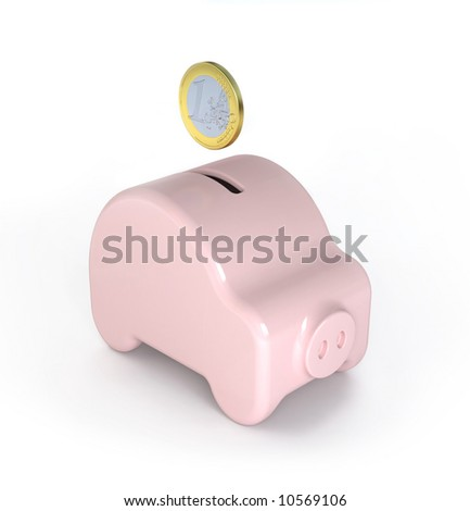 Saving for a car (Piggy) - variations of this concept in my portfolio