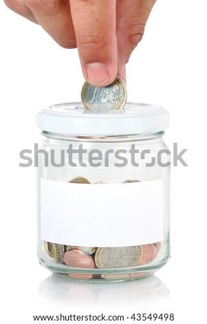 Saving money Foto stock ©