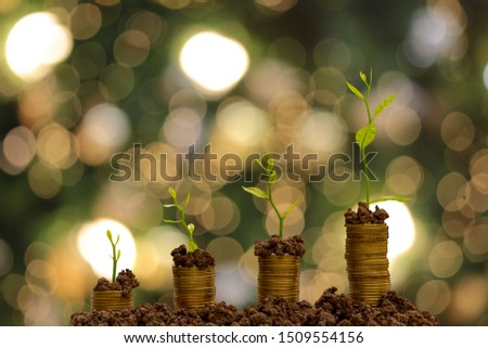 Saving money to grow like a tree that grows. #1509554156