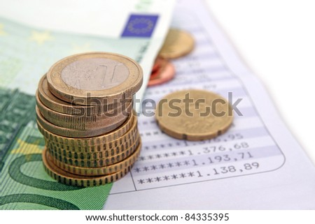 savings concept - stock photo