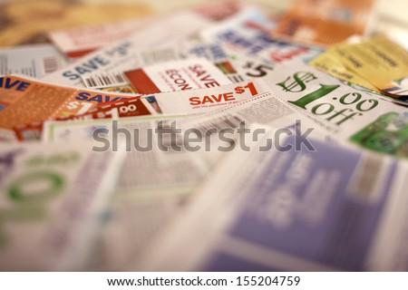 Savings coupons, Tilt to get off details