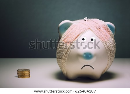 savings habit problem-piggy bank
