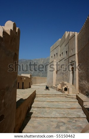 Sawadi Fort in Oman