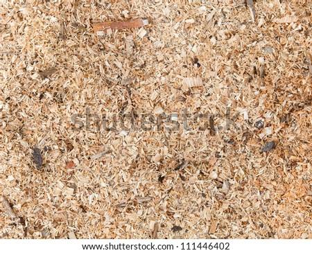 Sawdust detailed photo background texture