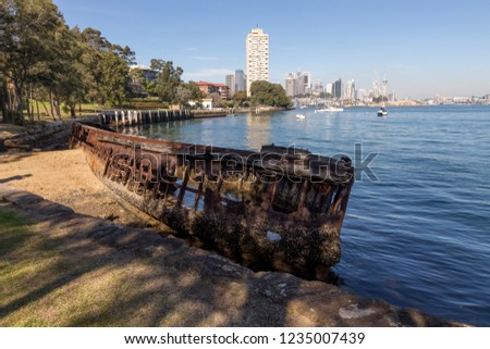 Sawmillers Reserve is one of North Sydney's true hidden gems. Follow the winding steps down to the water's edge for a beautiful view of harbour and an old shipwreck lies just offshore in Berry's Bay
