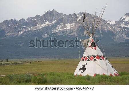 Sawtooth tepee