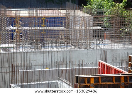 scaffolding, construction site outdoor site construction meatal