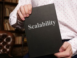 Scalability is shown on the conceptual photo using the text