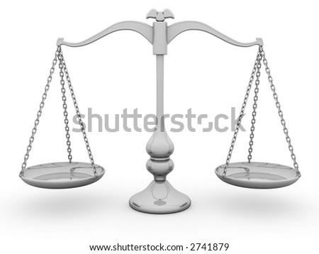 Scale Balance - stock photo