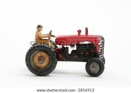 Scale model of traditional Farm Tractor