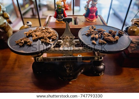 scales of chinese medicine, Chinese herbal medicine