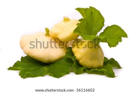 how to prepare white scallop squash