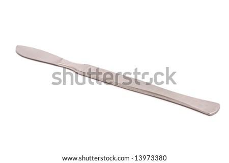 Scalpel isolated on white background