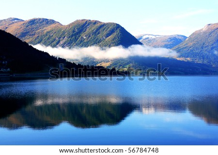 Scandinavian mountains, The North sea, taken in September