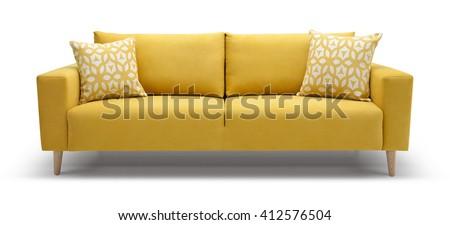 Scandinavian Sofa #412576504