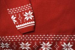Scandinavian sweater detail