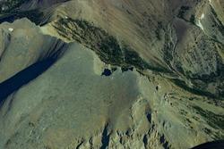 Scapegoat Wilderness Aerial Ridge Tops