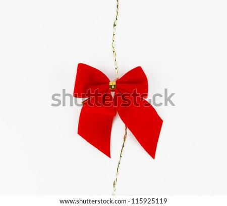 Scarlet ribbon/ Christmas decoration