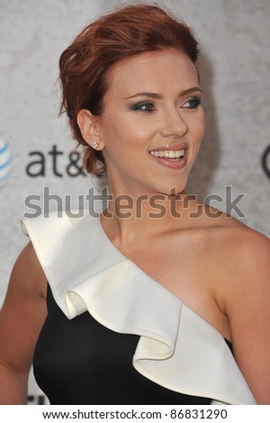 Scarlett Johansson at Spike TV's Guys Choice Awards 2011 at Sony Studios, Culver City, CA. June 4, 2011  Los Angeles, CA Picture: Paul Smith / Featureflash