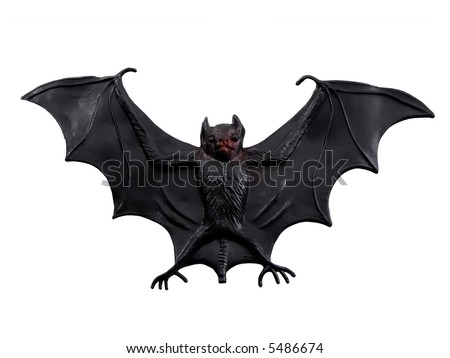 Scary Bat - stock photo