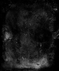 Scary grunge wall texture. Dark scratched background.