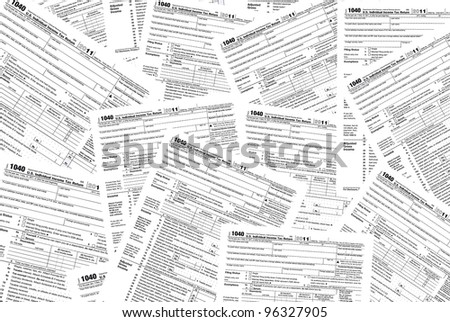 scattered income tax forms