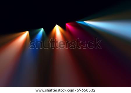 Scene bright light
