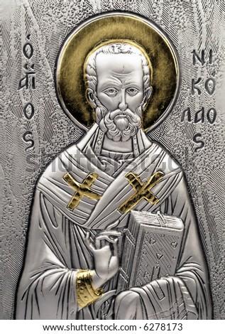 scene  icons saint Nikolaus
