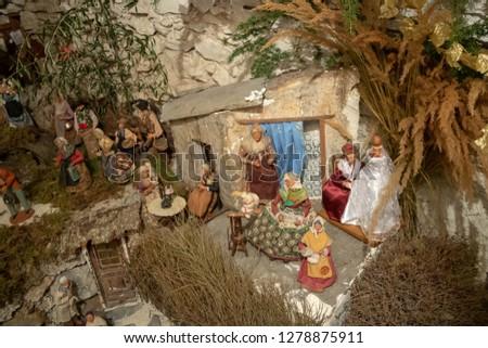 Sheep Figurine Santons J.JOUVE Nativity scene, sheep, animals, sheep,  animal Figure png   Klipartz