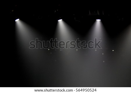 scene, stage light with colored spotlights #564950524