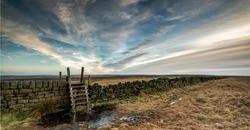 Scenery around Calderdale in West Yorkshire
