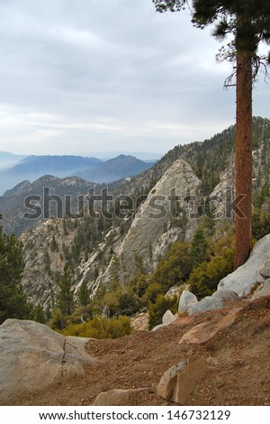 Scenery from Mt. San Jacinto