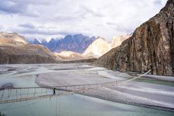 Scenery of Hunza Valley, Pakistan