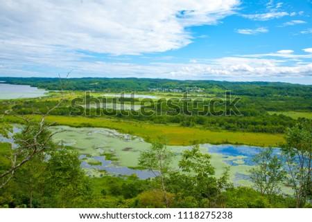 Scenery of Kushiro Marsh