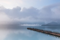 Scenery of Sun Moon Lake, the famous attraction in Taiwan, Asia. Scenery of Sun Moon Lake in Taiwan, Asia.