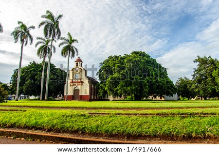 scenes from cuban streets and towns. stock photo