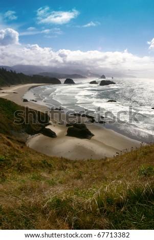 Scenes from the Oregon Coast and coast line