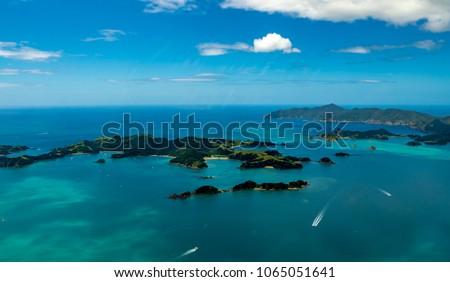 Scenic Bay of Islands, Paihia, New Zealand