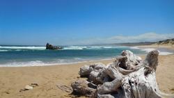 Scenic Beach at Buffalo Bay in South Africa near Garden Route