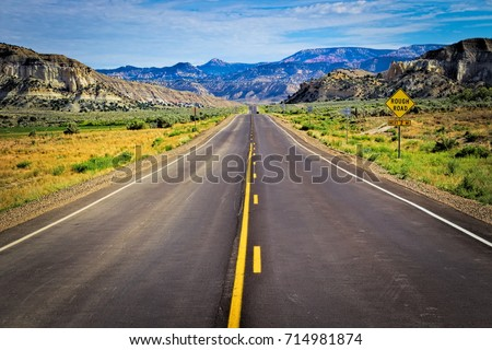 Scenic Byway of the USA #714981874