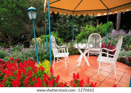 scenic garden view