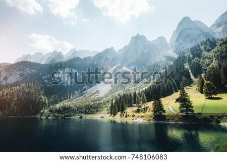 scenic image of great alpine...