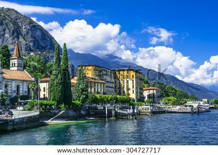 scenic landscapes of Lago di Como - Cadenabbia, Italy